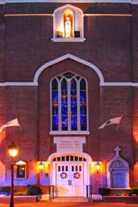 church_at_night